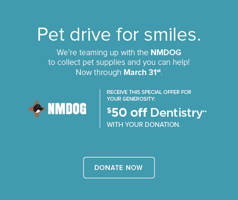 NMDOG Pet Drive - Enchanted Hills Dentistry and Orthodontics